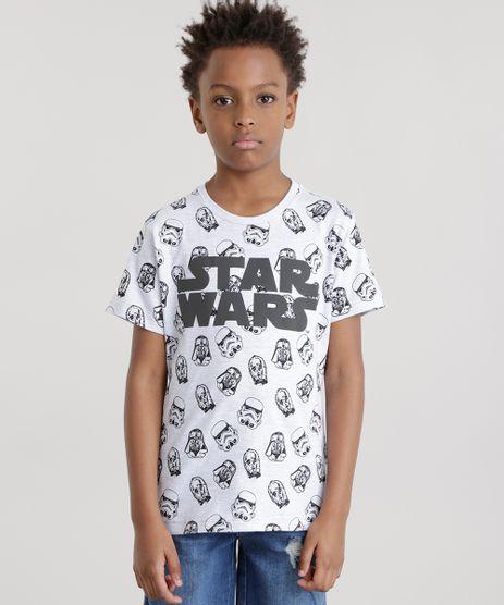 Camiseta-Star-Wars-Cinza-Mescla-Claro-8640986-Cinza_Mescla_Claro_1