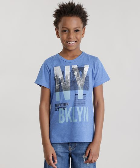 Camiseta--Downtown-New-York--Azul-8694100-Azul_1