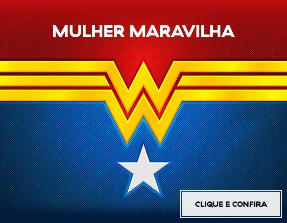 Banner Carrossel - Mulher Maravilha
