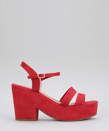 Sandalia-Plataforma-em-Suede-Vermelha-8708641-Vermelho_1