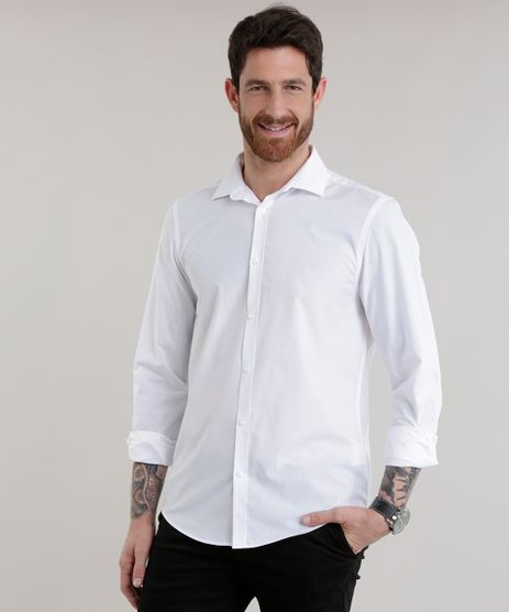 Camisa-Slim-em-Algodao---Sustentavel-Branca-7967961-Branco_1