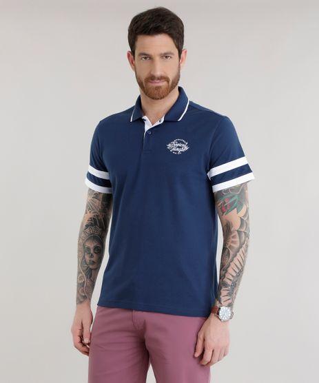 Polo-em-Piquet-com-Bordado--Tropical-Jungle--Azul-Marinho-8646779-Azul_Marinho_1