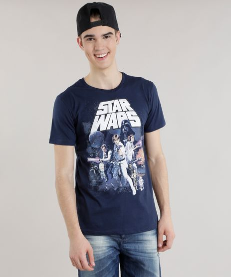 Camiseta-Star-Wars-Azul-Marinho-8479424-Azul_Marinho_1