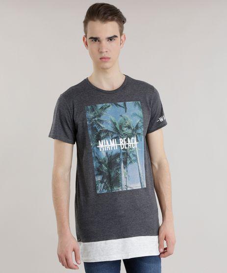 Camiseta-Longa--Miam-Beach--Cinza-Mescla-Escuro-8684163-Cinza_Mescla_Escuro_1