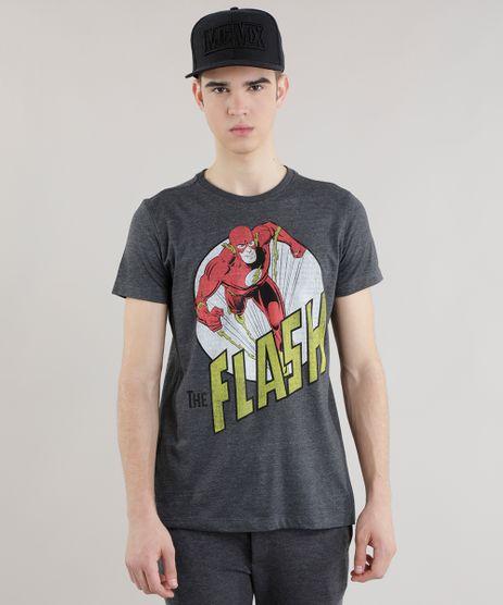 Camiseta-Flash-Cinza-Mescla-Escuro-8697337-Cinza_Mescla_Escuro_1