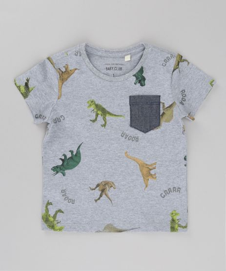 Camiseta-Estampada-de-Dinossauro-Cinza-Mescla-8615022-Cinza_Mescla_1