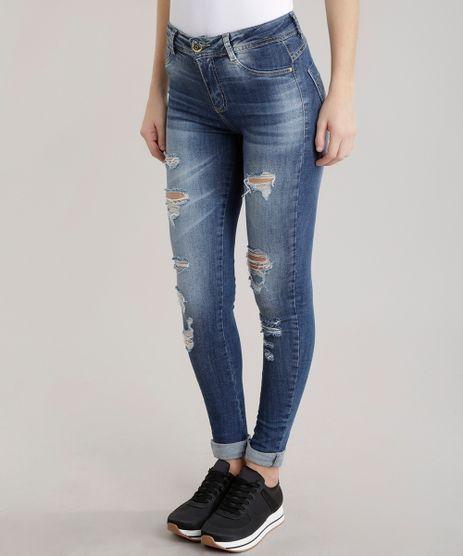 Calca-Jeans-Skinny-Sawary-Azul-Medio-8702772-Azul_Medio_1