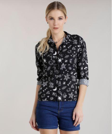 Camisa-Estampada-Preta-8697112-Preto_1