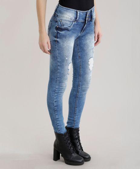 Calca-Jeans-Skinny-Modela-Bumbum-Sawary-Azul-Medio-8604780-Azul_Medio_1