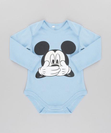 Body-Mickey-em-Algodao---Sustentavel-Azul-Claro-8582836-Azul_Claro_1