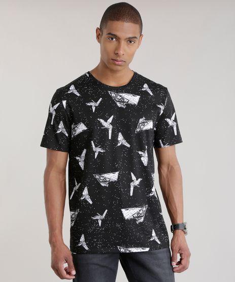 Camiseta-Estampada-Star-Wars-Preta-8644259-Preto_1
