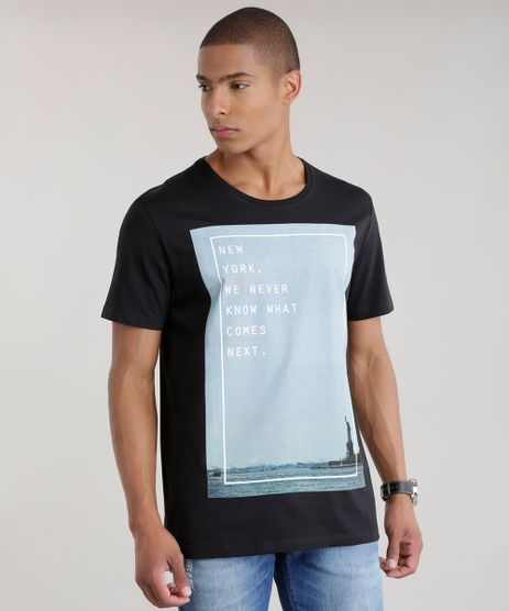 Camiseta--New-York-We-Never-Know--Preta-8643972-Preto_1