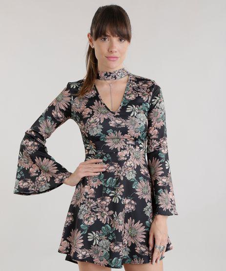 Vestido-Estampado-Floral-Preto-8687414-Preto_1