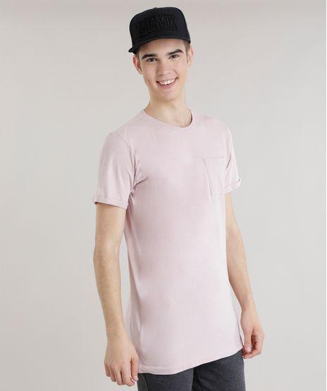 Camiseta-Longa-com-Bolso-Rose-8670698-Rose_1