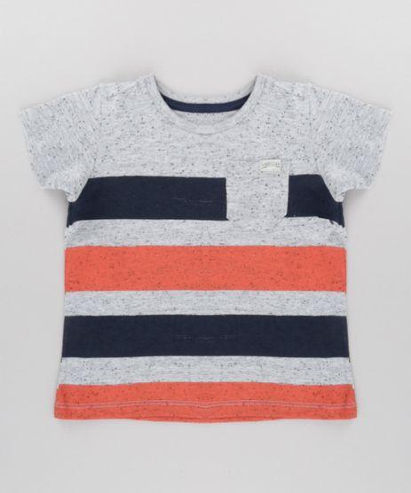 Camiseta-Botone-Listrada-com-Bolso-Cinza-Mescla-8703939-Cinza_Mescla_1