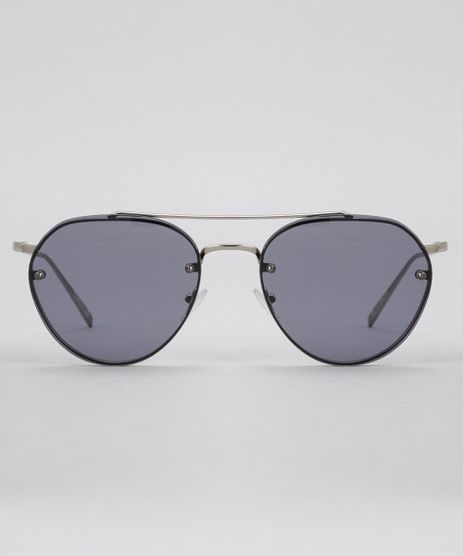 Oculos-de-Sol-Redondo-Feminino-Oneself-Prateado-8755277-Prateado_1