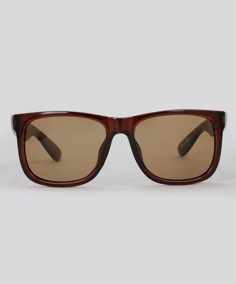 Oculos-de-Sol-Quadrado-Masculino-Oneself-Marrom-8755174-Marrom_1