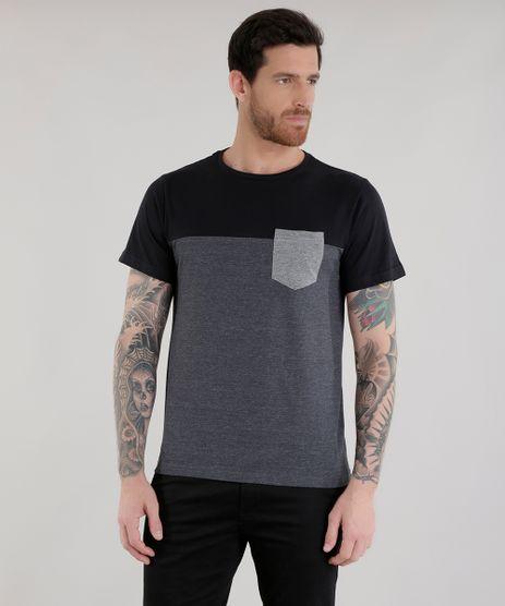 Camiseta-com-Recorte-Cinza-Mescla-Escuro-8460361-Cinza_Mescla_Escuro_1