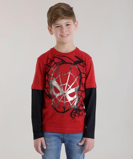Camiseta-Homem-Aranha-Vermelha-8630125-Vermelho_1