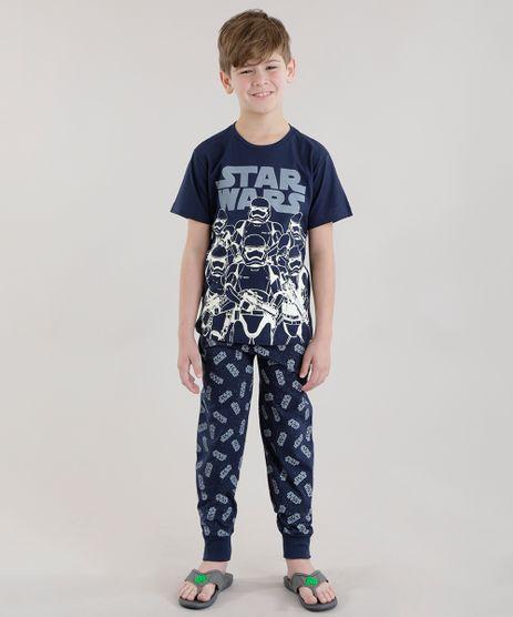 Pijama-Star-Wars-Brilha-no-Escuro-Azul-Marinho-8659199-Azul_Marinho_1