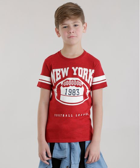 Camiseta--New-York-Football-League--Vermelha-8684056-Vermelho_1