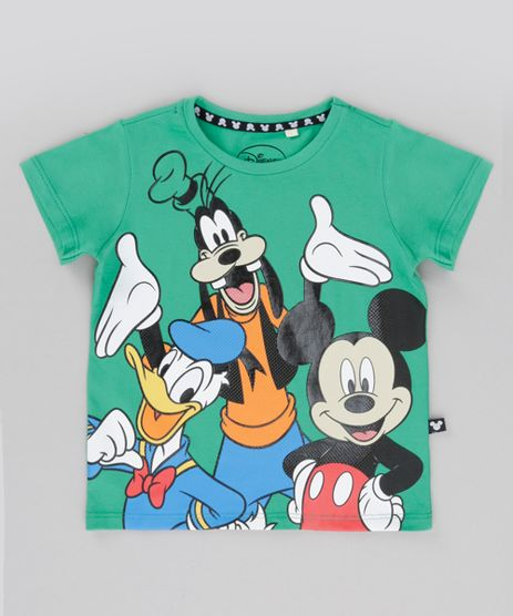 Camiseta-Turma-do-Mickey-Verde-8698313-Verde_1