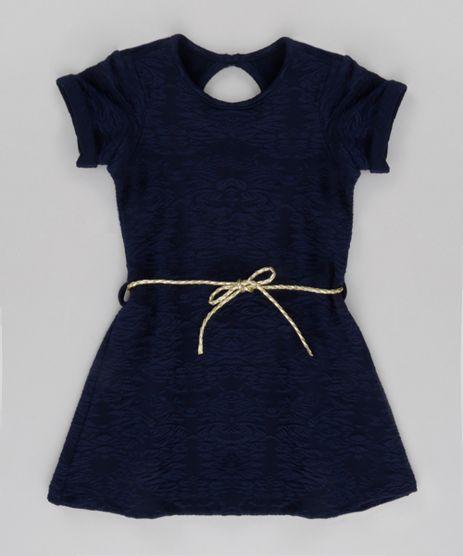 Vestido-em-Jacquard-com-Cinto-Azul-Marinho-8716221-Azul_Marinho_1