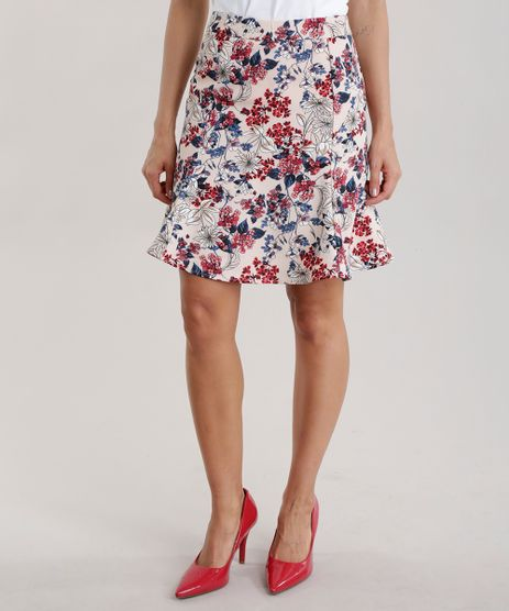 Saia-Evase-Estampada-Floral-Rose-8588083-Rose_1