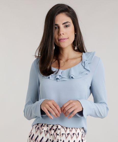 Blusa-Texturizada-com-Babados-Azul-Claro-8592634-Azul_Claro_1