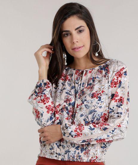 Blusa-Estampada-Floral-com-Guipir-Rose-8594338-Rose_1