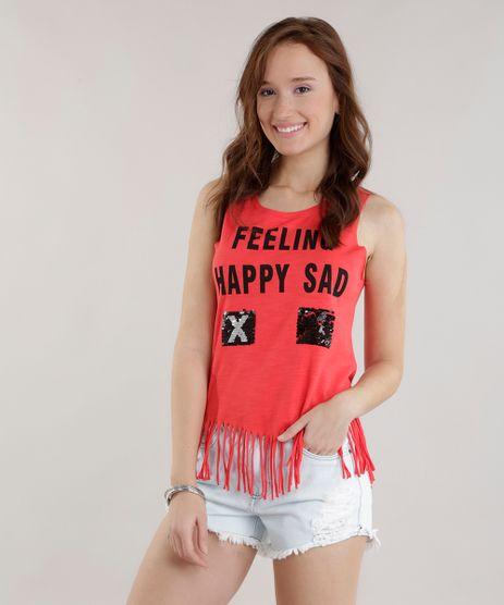 Regata--Feeling-Happy-or-Sad--com-Paetes-Dupla-Face--Vermelha-8692711-Vermelho_1