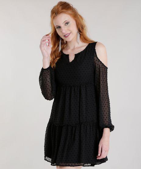 Vestido-Open-Shoulder-Texturizado-Preto-8593610-Preto_1