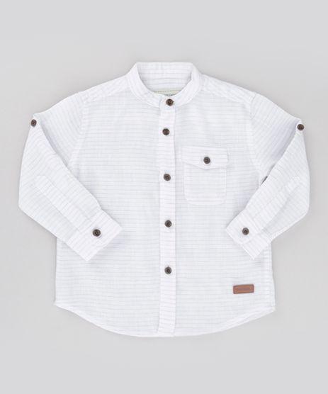 Camisa-Listrada-em-Linho-de-Algodao---Sustentavel--Off-White-8584060-Off_White_1