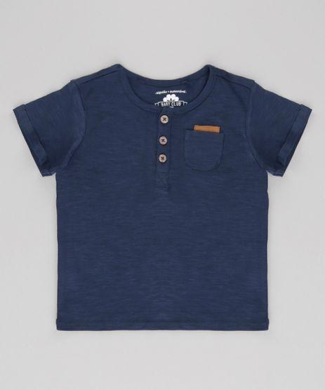 Camiseta-com-Bolso-em-Algodao---Sustentavel-Azul-Marinho-8592185-Azul_Marinho_1