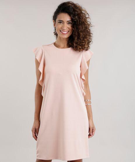 Vestido-com-Babado-Rose-8697780-Rose_1