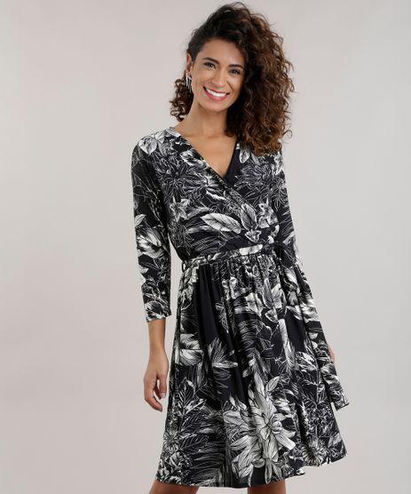 Vestido-Estampado-Floral-Preto-8747867-Preto_1