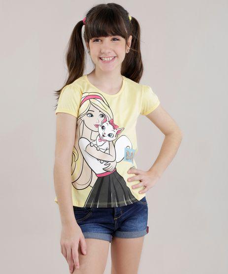 Blusa-Barbie-com-Paetes-Amarelo-Claro-8725480-Amarelo_Claro_1