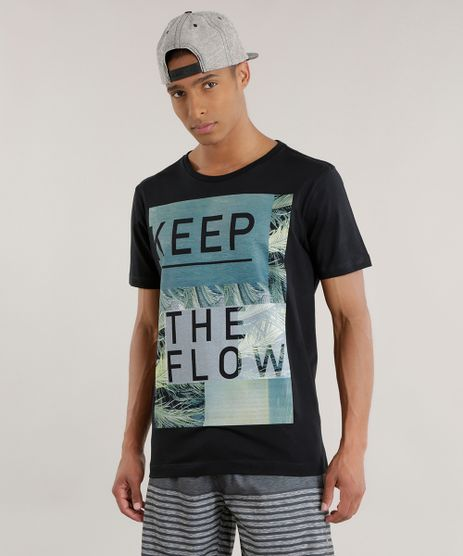 Camiseta--Keep-The-Flow--Preta-8692124-Preto_1