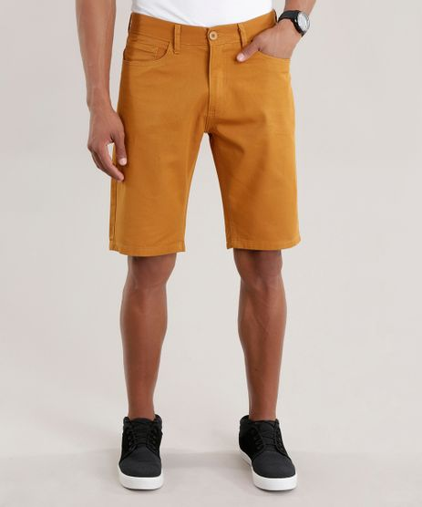 Bermuda-Reta-Amarelo-Escuro-8297079-Amarelo_Escuro_1