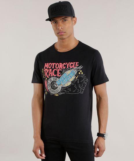 Camiseta--Motorcycle-Race--Preta-8711071-Preto_1