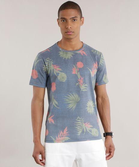 Camiseta-Estampada-Floral-Cinza-8712689-Cinza_1