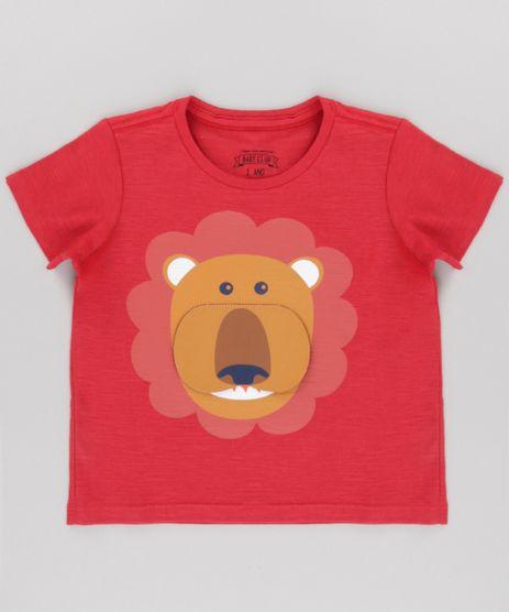Camiseta--Leao---Vermelha-8674368-Vermelho_1