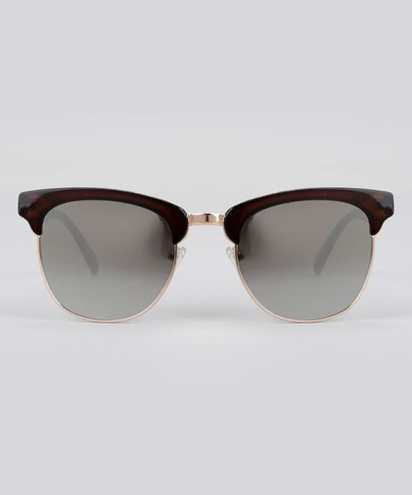 Oculos-de-Sol-Quadrado-Espelhado-Feminino-Oneself-Marrom-8759592-Marrom_1