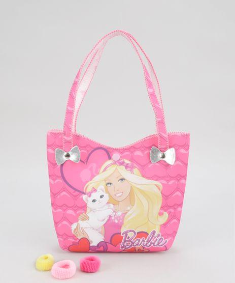 Bolsa-Estampada-Barbie---Elastico-de-Cabelo-Rosa-8673642-Rosa_1