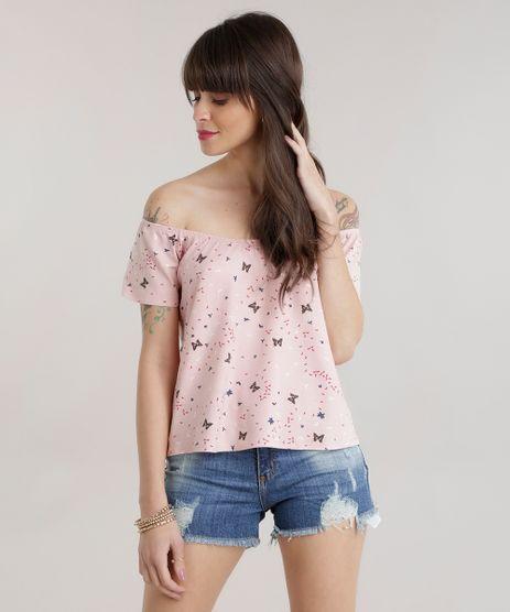 Blusa-Ombro-a-Ombro-Estampada-de-Borboletas-Rose-8728626-Rose_1