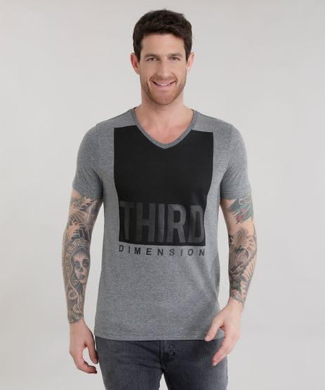 Camiseta--Third-Dimension--Cinza-Mescla-Escuro-8659477-Cinza_Mescla_Escuro_1