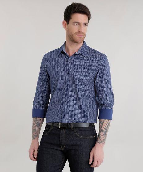 Camisa-Slim-Estampada-Azul-Marinho-8585451-Azul_Marinho_1