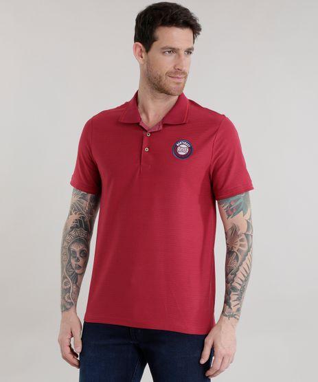 Polo-Listrada-com-Bordado-Vermelha-8514528-Vermelho_1