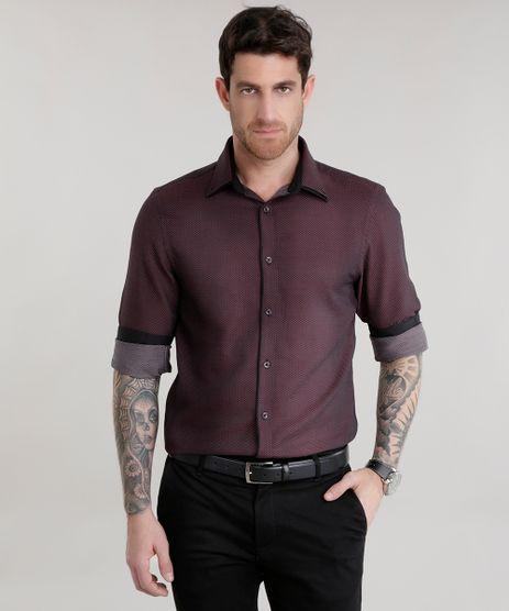 Camisa-Slim-Estampada-de-Poa-Vinho-8587044-Vinho_1