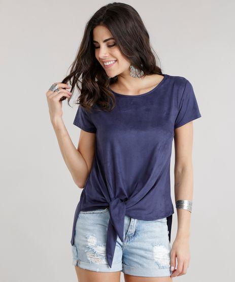 Blusa-Assimetrica-em-Suede-com-No-Azul-Marinho-8740907-Azul_Marinho_1